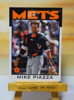 2021 ⚾ Topps Baseball Series 1 1986 Insert Mike Piazza #86B-87 New York Mets