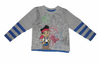 BOYS LONG SLEEVED TOP DISNEY JAKE AND THE NEVERLAND PIRATES 1-5 YEARS
