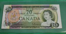 1969 $20 Canada Beattie Rasminsky replacement note BC-50aA *EM VF