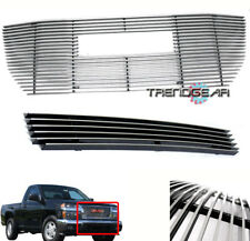 2004-2011 GMC CANYON PICKUP TRUCK FRONT UPPER + BUMPER BILLET GRILLE GRILL COMBO