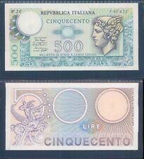 REPUBBLICA ITALIANA,500 LIRE TESTA DI MERCURIO,SERIE SPECIALE W26 F.D.S.  A.