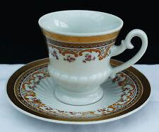 """Porcelaine Moka Tasse FP ZAJECAR yougoslavie """"Ornamentik décor""""!!! Nº 329"""