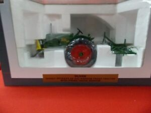 Spec Cast Oliver 88 Gas NF with Spring Tooth Harrow toy replica SCT372