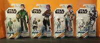 "Hasbro Star Wars Resistance 3.75"" Lot of 4 Sealed Stormtrooper Synara Kaz Torra"