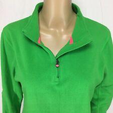 Under Armour Juniors Medium Fleece Pullover Quarter Zip Semi-Fitted Embroidered