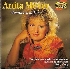 ANITA MEYER - Memories of love 16TR CD 1989 / POP / ARIOLA EXPRESS / RARE!
