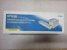 Toner d'encre Jaune neuf original Epson N°C13S050230 pour Aculaser C2600 series
