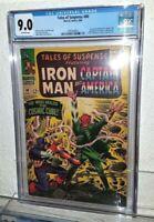 TALES OF SUSPENSE 80 CGC 9.0 NM 1st COSMIC CUBE Captain America Red Skull MARVEL