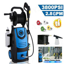 2300-3800PSI 2.8GPM Electric Pressure Washer Powerful Cold Water Cleaner Machine