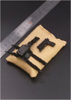 """VERY HOT P226 Pistol with Holster 1/6 FIT for 12"""" action figure"""