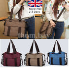 Fashion Canvas Ladies Women Tote Shoulder Handbag Messenger Crossbody Bag