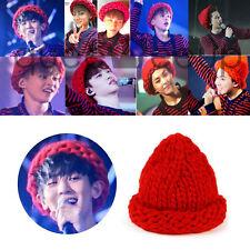 Kpop Star EXO Red Hat Exo Same Style Beanie Korea Fashion Concert  Mango woolly
