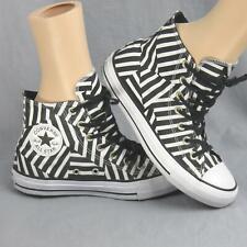 Converse All Star Chuck Taylor Geometric Striped Sample Shoes Men 6 Women 8