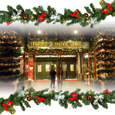 5m Weihnachtsgirlande Indoor & Outdoor Girlande Tannengirlande Weihnachtsdeko