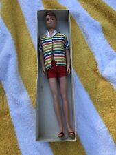 Vintage Barbie Mattel 1960 Allan Doll Ken's Buddy With Original Box