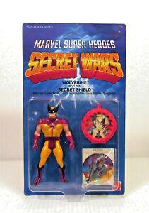 Marvel Super Heroes Secret Wars Wolverine Action Figure Silver Claws UNPUNCHED