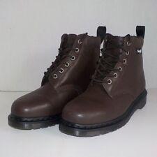 Dr Doc Martens 939 LAREDO Padded Collar Thinsulate Boot DARK BROWN Women Size 10