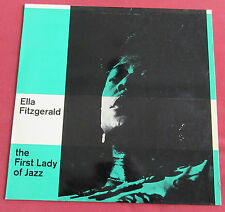 ELLA FITZGERALD   LP ORIG SUISSE THE FIRST LADY OF JAZZ