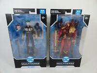 """DC Multiverse Batman White Knight AZRAEL w JOKER 7"""" Figure McFarlane Toys Lot"""