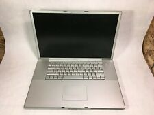 "Apple PowerBook G4 17"" 2005 A1107 PowerPC G4 1.67GHz 1GB RAM -PARTS -RR"