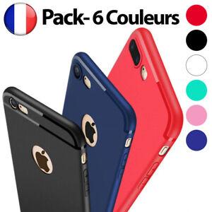 Antichoc Bumper Silicone Housse Coque Pour iPhone XS Max XR X 8 Plus 7 Plus 6 s