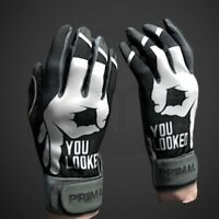 "Primal Baseball C1COOP ""YOU LOOKED""  Baseball Batting Gloves Size Adult Large"