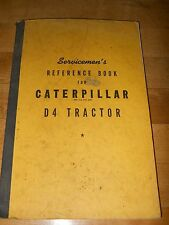 Caterpillar R4 Tractor Reference Book