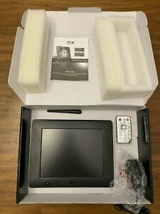NIX 8 Inch Digital Hu-Motion Sensor Photo Picture Frame Black X08C MINT!