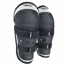Fox Racing Titan Peewee Knee/Shin Guards For Motocross Ages 4-9 Youth/Kids/Child