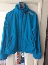Ladies Superdry 3 Zip Windcheater Jacket Size L
