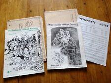 Judges Guild D&D module : Wilderlands of High Fantasy : 2 booklets, 5 maps