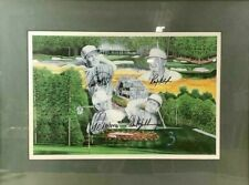Treetops Par Shootout Lee Trevino Phil Mickelson Ray Floyd Signed Golf Art Print