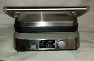Cuisinart Electric Griddler Five Grill/Panini GR-5 Series Stainless Steel