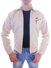LEE Mens Vtg 90s Casual Crop Slim Cotton Spring Summer Autumn Zip Jacket S Z15