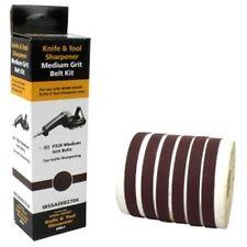 Drill Doctor WSSA0002704 Six 220 Grit Belt Kit for Work Sharp WSKTS