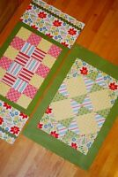 Here to There Runner, Floor Mat Pattern By Beach Garden Quilts; Two sizes