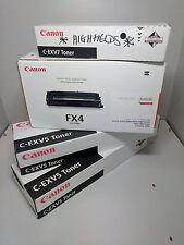 4x Canon Toners 1xFX4 2xC-EXV5 1xC-EXV7 tout nouveau.