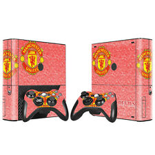 Micos Xbox 360E Decal Pink MANCHESTER UNITED Sticker Console Controller Skin 589