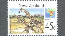 New Zealand-Giraffe-Wild Animals - (1824) 1994 mnh
