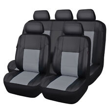 CARPASS universal fit PU Leather Auto car Seat Covers  SHIP FROM US