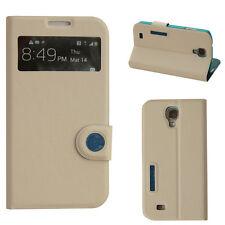 Cover für Samsung Galaxy S4 Tasche Schutz Hülle Etui Flip Case Handy Smart