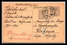 GP GOLDPATH: AUSTRIA POSTAL CARD 1891 _CV776_P08