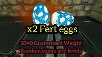 Ark Survival Evolved Xbox One PvE [x2] Fert Eggs 2040 Weight Argentavis