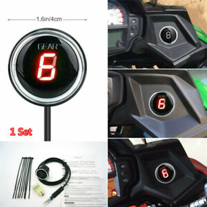 New Red Led Motorcycle Gear Round Indicator for Kawasaki Versys 650 Versys 1000*