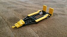 LEGO City Custom Black with Yellow  Trailer for Hot Rod and Truck