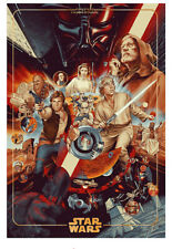STAR WARS WAY OF THE FORCE Print Martin Ansin Mondo Sold Out Limited Edition