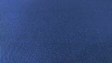 "Royal Blue 7 OZ. Nomex Aramid Canvas Twill Fabric 64""W Soft Flame Retardant"
