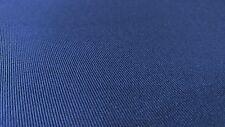 "Royal Blue 7 OZ. Nomex Aramid Canvas Twill Fabric 64""W Soft Flame Retardant"