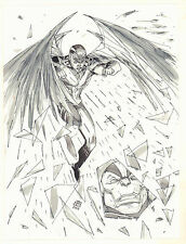Archangel vs. Apocalypse - 2009 art by Khoi Pham Comic Art
