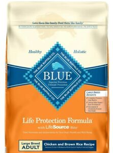 Blue Buffalo Life Protection Large Breed Chicken an Brown Rice Dog Food 30-lb